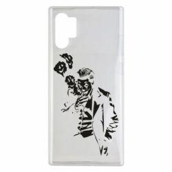 Чехол для Samsung Note 10 Plus Joker smokes and smiles