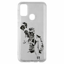 Чехол для Samsung M30s Joker smokes and smiles