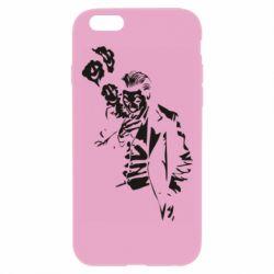Чехол для iPhone 6 Plus/6S Plus Joker smokes and smiles