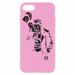 Чехол для iPhone 7 Joker smokes and smiles