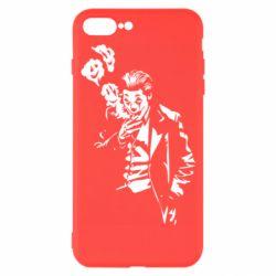 Чехол для iPhone 7 Plus Joker smokes and smiles