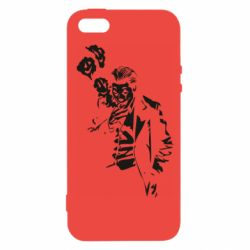 Чехол для iPhone5/5S/SE Joker smokes and smiles