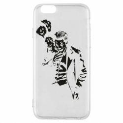 Чехол для iPhone 6/6S Joker smokes and smiles