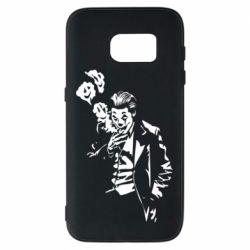 Чехол для Samsung S7 Joker smokes and smiles