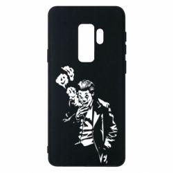 Чехол для Samsung S9+ Joker smokes and smiles