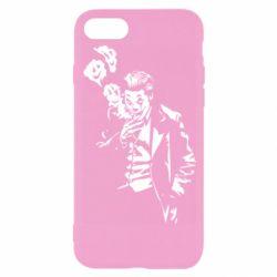 Чехол для iPhone 8 Joker smokes and smiles