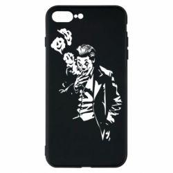 Чехол для iPhone 8 Plus Joker smokes and smiles