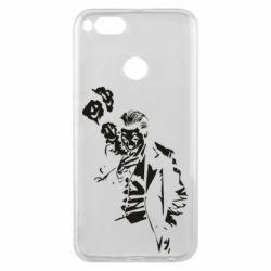 Чехол для Xiaomi Mi A1 Joker smokes and smiles