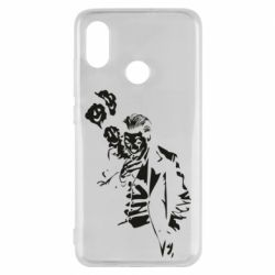 Чехол для Xiaomi Mi8 Joker smokes and smiles
