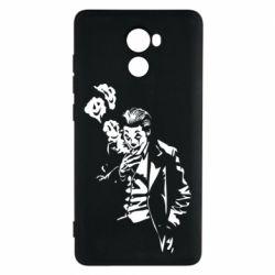 Чехол для Xiaomi Redmi 4 Joker smokes and smiles