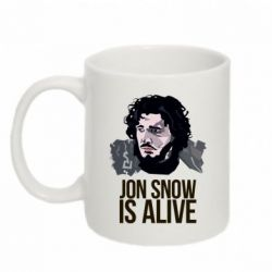 Кружка 320ml Jon Snow is alive