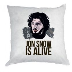 Подушка Jon Snow is alive - FatLine