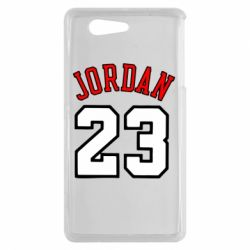 Чохол для Sony Xperia Z3 mini Jordan 23 - FatLine