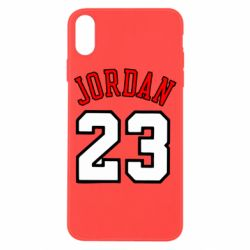 Чохол для iPhone X Jordan 23 - FatLine