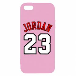Чохол для iphone 5/5S/SE Jordan 23 - FatLine