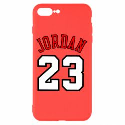 Чохол для iPhone 8 Plus Jordan 23 - FatLine