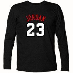 Футболка с длинным рукавом Jordan 23 - FatLine