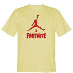 Мужская футболка JORDAN FORTNITE