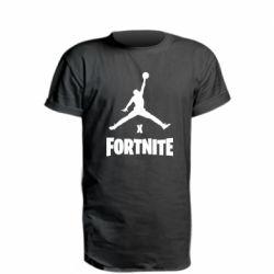 Удлиненная футболка JORDAN FORTNITE