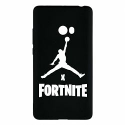 Чехол для Xiaomi Mi Note 2 JORDAN FORTNITE