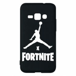 Чехол для Samsung J1 2016 JORDAN FORTNITE