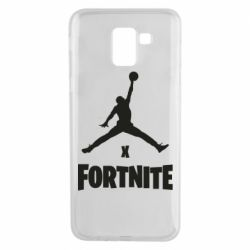 Чехол для Samsung J6 JORDAN FORTNITE