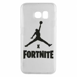 Чехол для Samsung S6 EDGE JORDAN FORTNITE