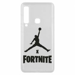 Чехол для Samsung A9 2018 JORDAN FORTNITE