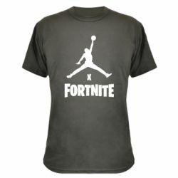 Камуфляжная футболка JORDAN FORTNITE