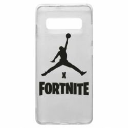 Чехол для Samsung S10+ JORDAN FORTNITE