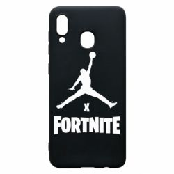 Чехол для Samsung A20 JORDAN FORTNITE
