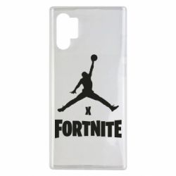 Чехол для Samsung Note 10 Plus JORDAN FORTNITE