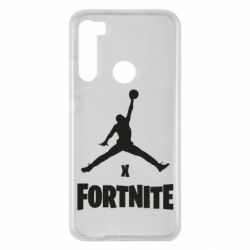 Чехол для Xiaomi Redmi Note 8 JORDAN FORTNITE