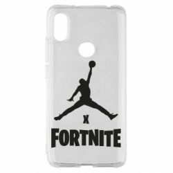 Чехол для Xiaomi Redmi S2 JORDAN FORTNITE