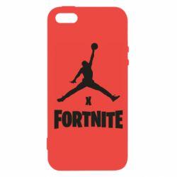Чехол для iPhone5/5S/SE JORDAN FORTNITE