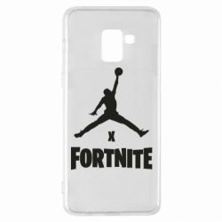 Чехол для Samsung A8+ 2018 JORDAN FORTNITE