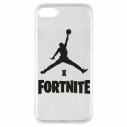 Чехол для iPhone 8 JORDAN FORTNITE