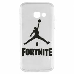 Чехол для Samsung A3 2017 JORDAN FORTNITE