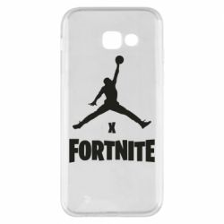 Чехол для Samsung A5 2017 JORDAN FORTNITE