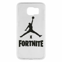 Чехол для Samsung S6 JORDAN FORTNITE