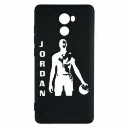 Чехол для Xiaomi Redmi 4 Jordan - FatLine