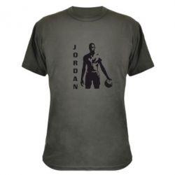 Камуфляжная футболка Jordan - FatLine