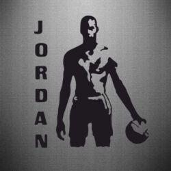 Наклейка Jordan - FatLine