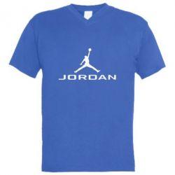 Мужская футболка  с V-образным вырезом Jordan