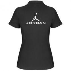 Женская футболка поло Jordan