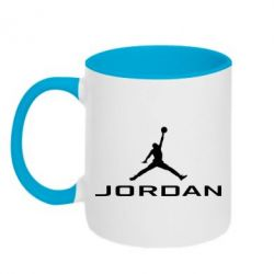 Кружка двоколірна 320ml Jordan