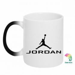 Кружка-хамелеон Jordan