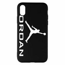 Чохол для iPhone X/Xs Jordan