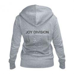 Жіноча толстовка на блискавці Joy devision