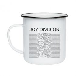 Кружка емальована Joy devision